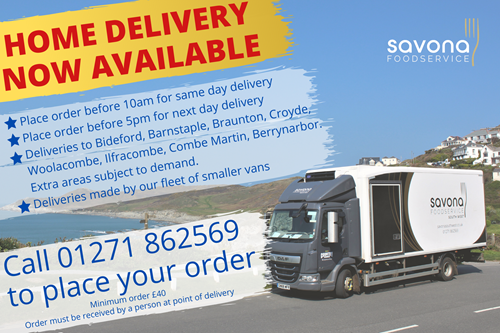 Savona Food home delivery 01271 862569