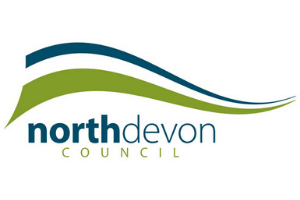 North Devon Council logo  Government's business grants are on their way