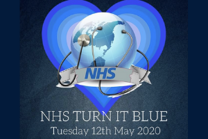 NHS blue.png Verity will become a beacon of blue to celebrate the NHS