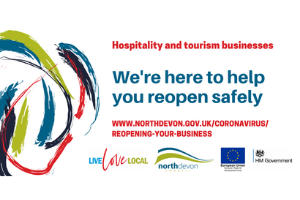 Hospitality meme News.png Advice to help North Devon's businesses reopen safely