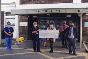 ladywell pic cropped.jpg Crematorium donates £10,000 to North Devon charity that goes 'Over and Above'
