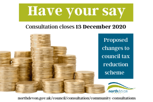 Copy of Have your say.png Have your say on changes to council tax reduction scheme