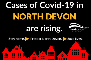 Rise in cases meme.png North Devon residents urged not to be complacent as Coronavirus cases rise in the district