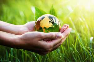 Hands holding a small globe in a field of grass.png Could it be time to spring clean your lifestyle?